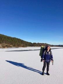 Is på Dalevatn
