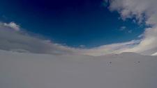 Glimt av blå himmel på vidda