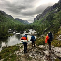 Påtur inn i Frafjordheiane. Foto: Birk Arnesen