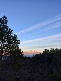 Heilhornet sett fra Sundsfjellet