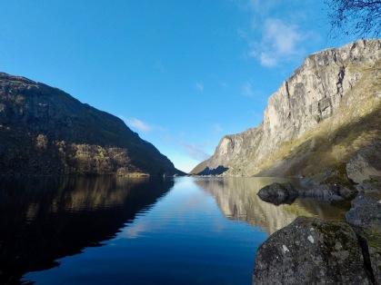 Fin morgen ved Viglesdalsvatnet.