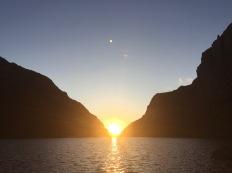 Solnedgang i Viglesdalen.