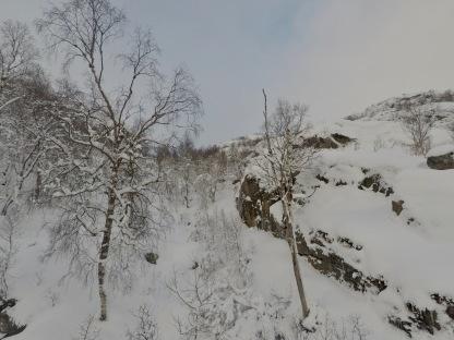 Skitur kulisser