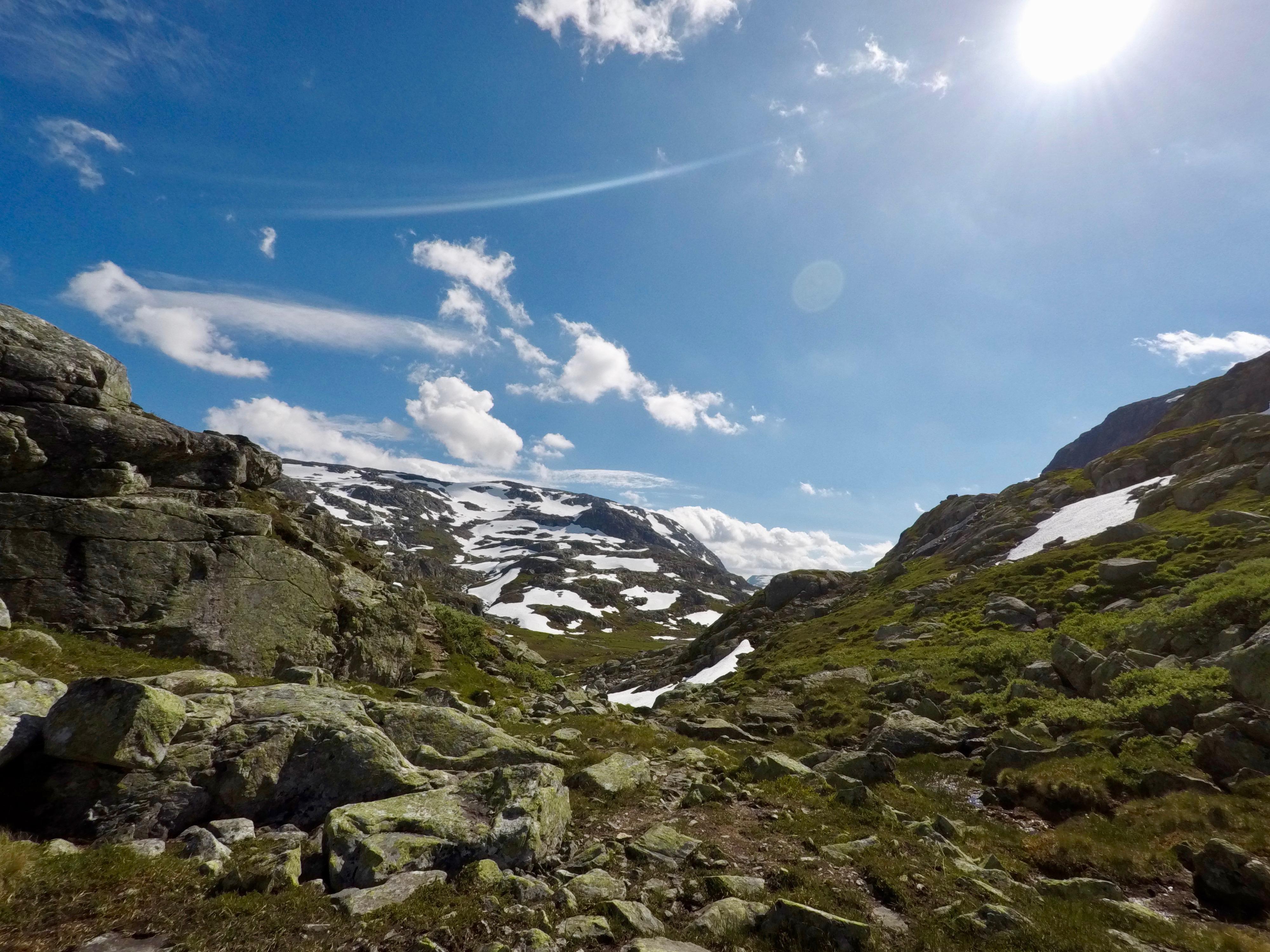 Inngangen til Ståvassdalen