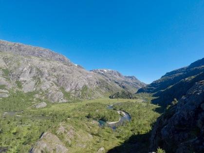 Flybilde av Kvanndalen.